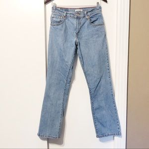 Levi's 550 Relaxed Fit Medium Wash Blue Jeans